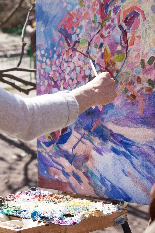 Painting ideas from nature